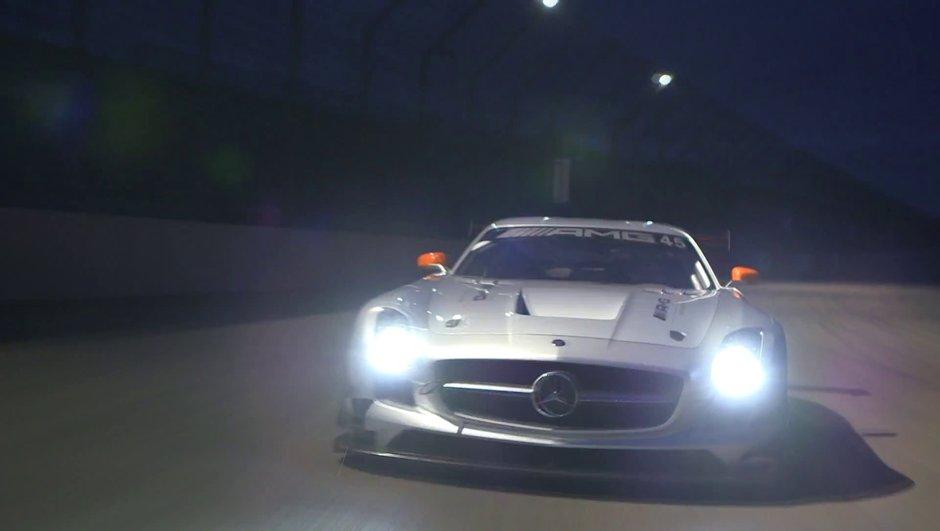 Vidéo insolite : Mercedes souhaite un Joyeux Noël 2012