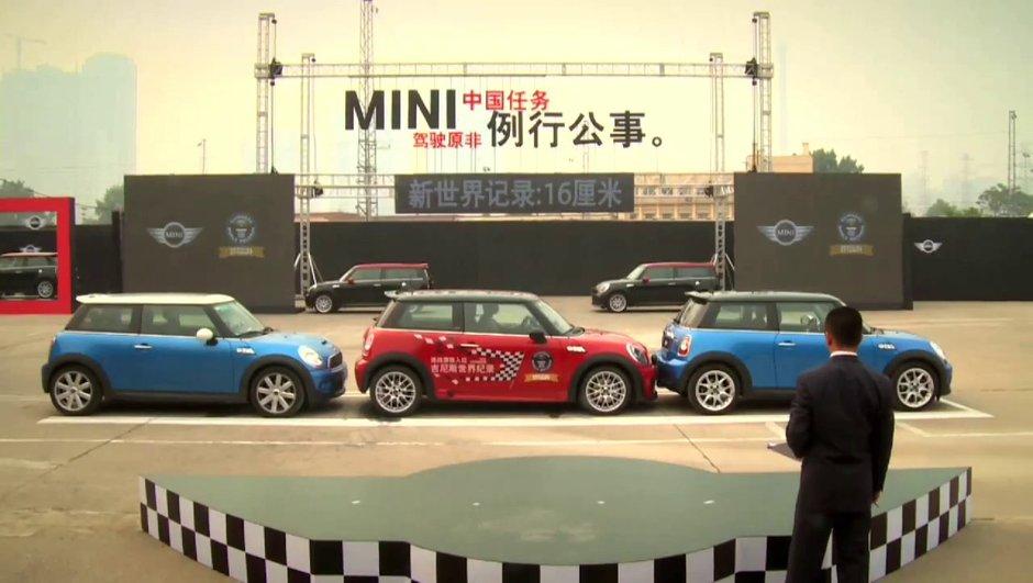 Insolite : nouveau record de stationnement en MINI