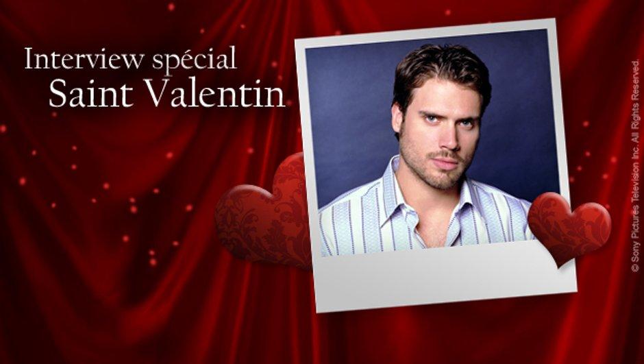 Joshua Morrow répond à vos questions pour la Saint Valentin !