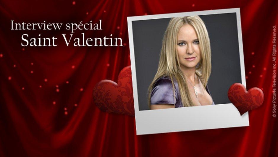 Interview spéciale Saint-Valentin : Sharon Case se met à nu !