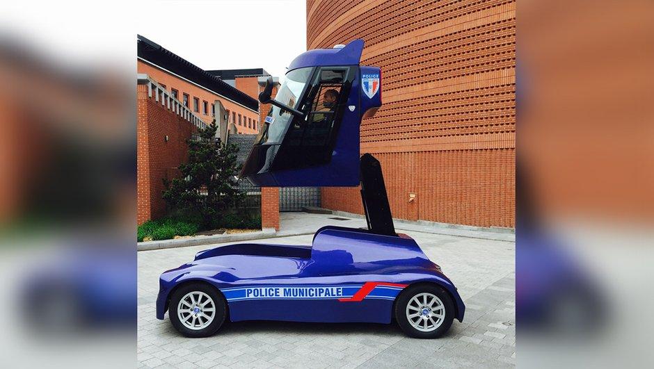 Iris Viséo : Découvrez le véhicule insolite de la police d'Evry !