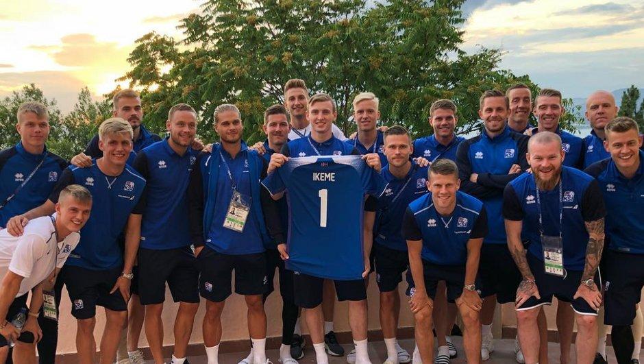Nigeria-Islande : les Vikings souhaitent le meilleur à Carl Ikeme, gardien nigérian privé de Mondial
