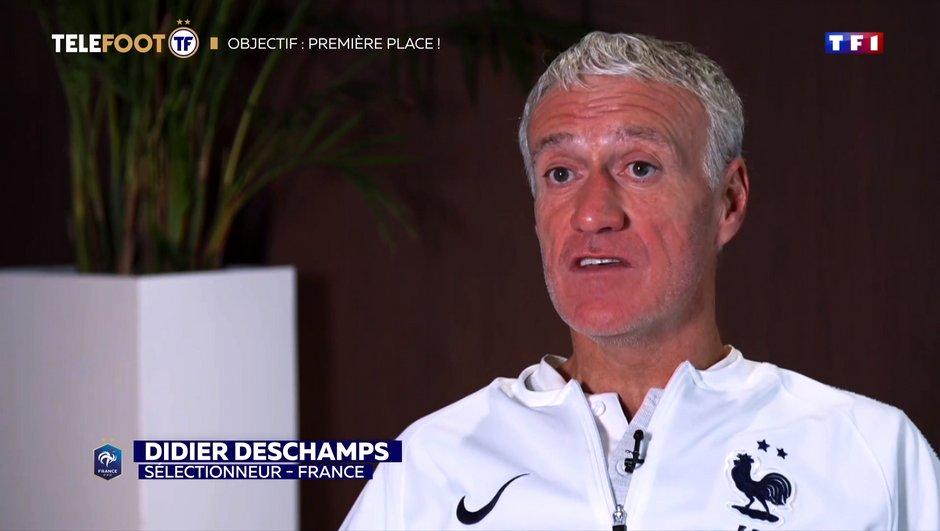 [EXCLU Téléfoot 17/11] - Deschamps évoque le cas Giroud