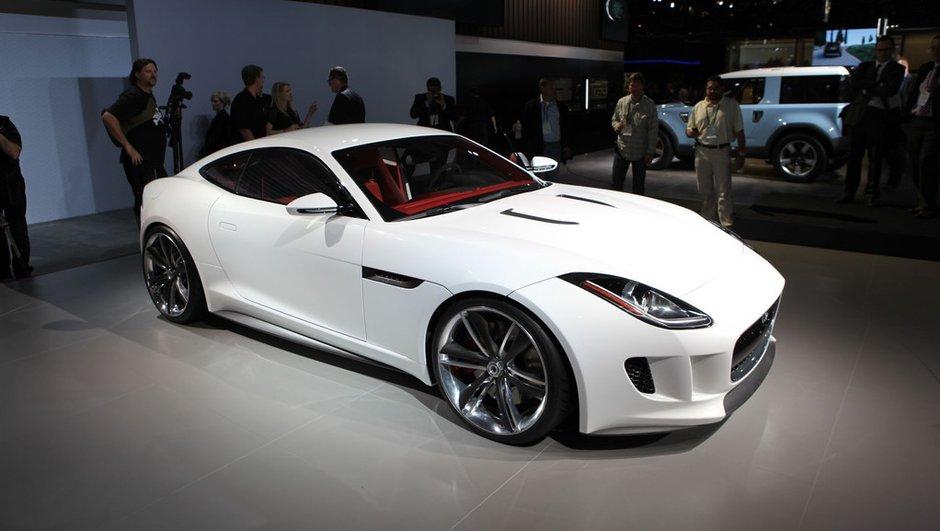 Salon de Los Angeles 2011 : Jaguar C-X16 Concept, back in white !