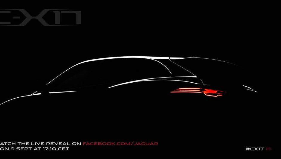 Jaguar C-X17 Concept 2013 : le crossover s'annonce avant Francfort