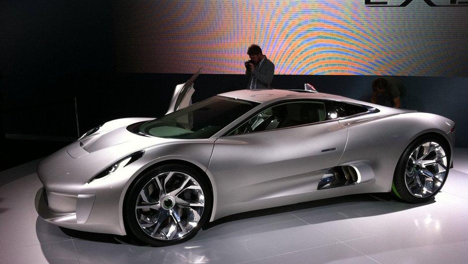 Jaguar C-X75 Concept : feu orange pour la production