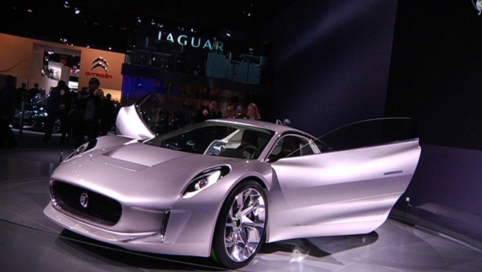 Jaguar C-X75 : la folle hybride en série à 250 exemplaires !