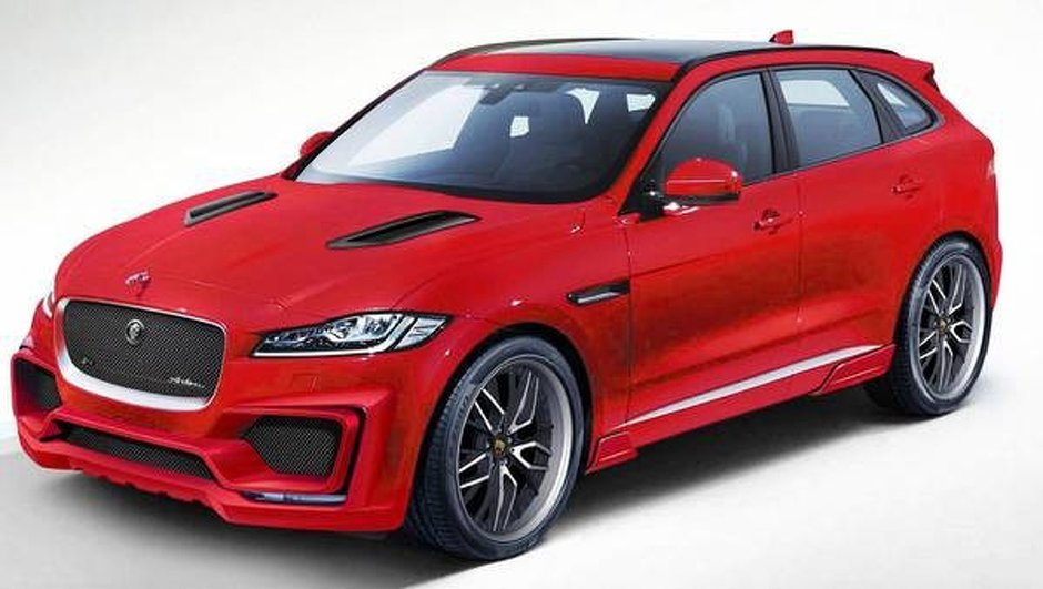 Jaguar F-Pace : un look plus musclé grâce au kit aéro d'Arden