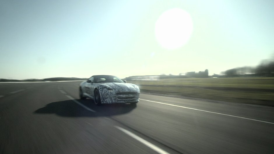 Vidéo : la future Jaguar F-Type en action