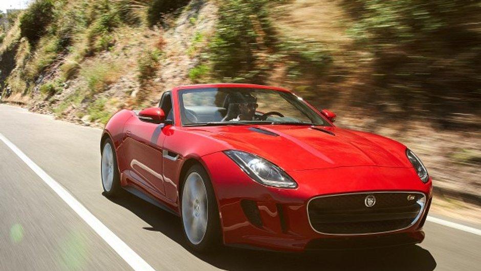 Mondial de l'Auto 2012 : Jaguar F-Type en nouvelles photos...officieuses