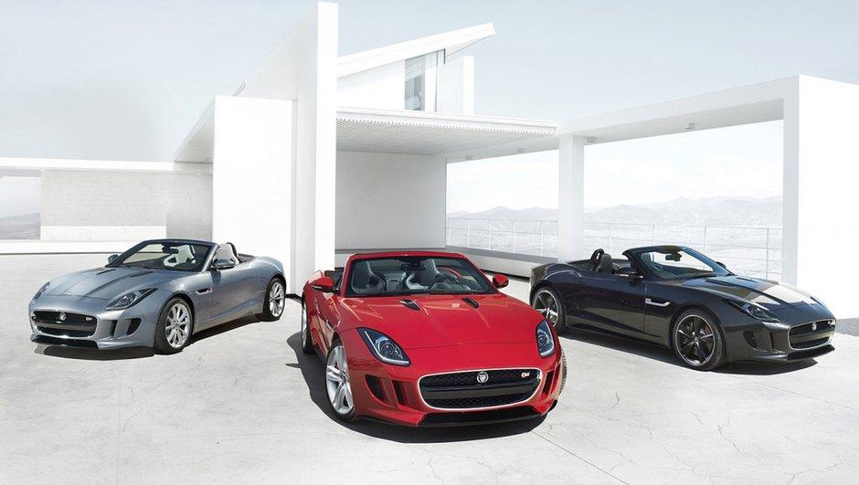 Mondial de l'Auto 2012 : la Jaguar F-Type se dévoile