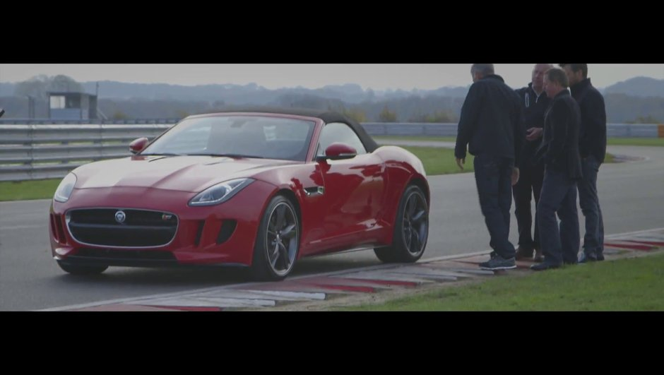 Vidéo : la Jaguar F-Type fait chanter les V6 et V8