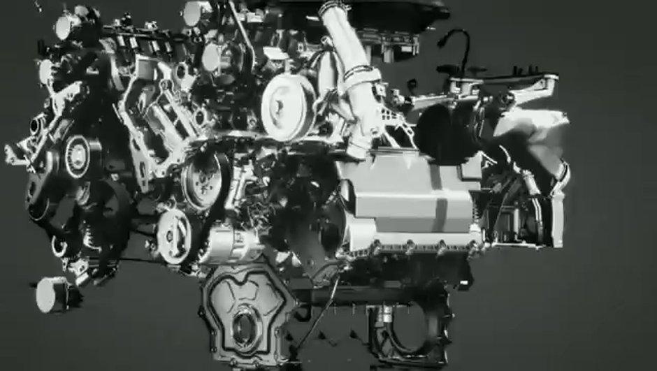 Vidéo : la Jaguar F-Type présente son nouveau V6 explosif