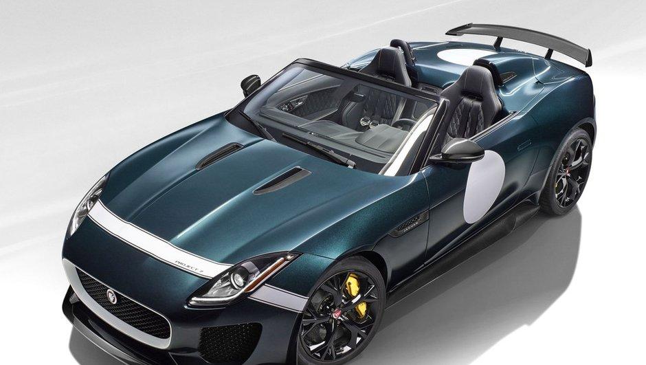 Jaguar F-Type Project 7 2014 : la turbulente britannique de 575 chevaux