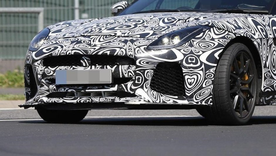 Scoop : la future Jaguar F-Type SVR au-delà de 600 ch ?