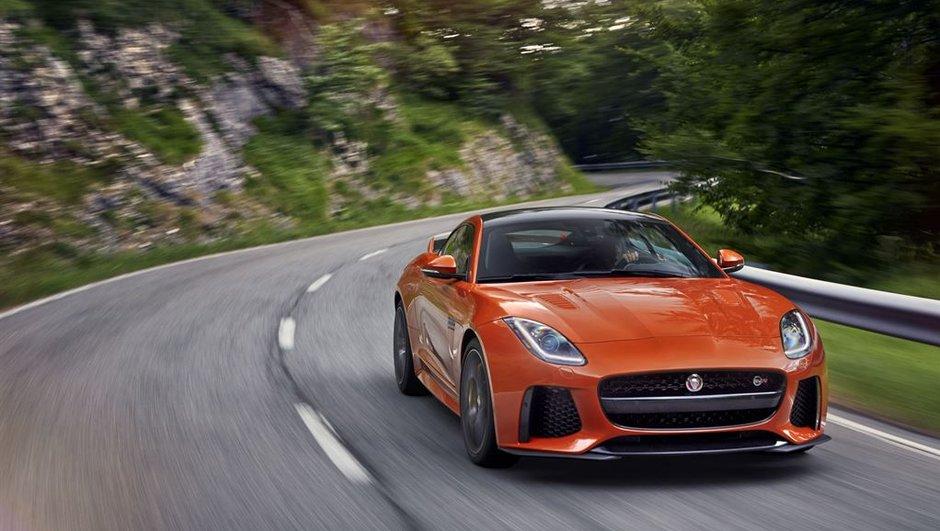 Les infos et prix de la Jaguar F-Type SVR avant le salon de Genève