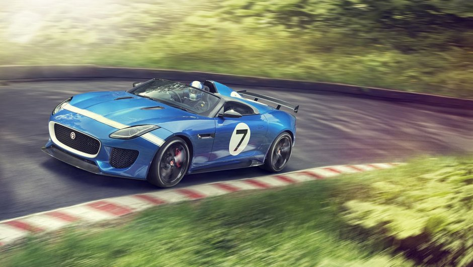 Jaguar Project 7 : une F-Type extrême de 550 chevaux
