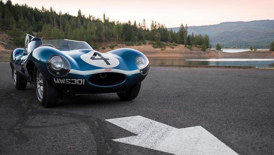 Une Jaguar Type D adjugée 19,2 millions d'euros à Pebble Beach