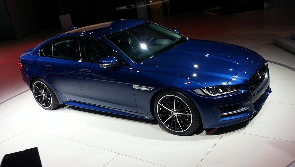 Mondial de l'Automobile 2014 : Jaguar XE, la berline anglaise chasseuse d'allemandes