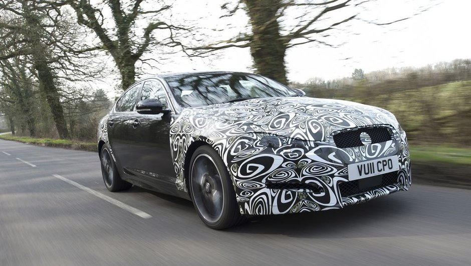 Jaguar XF 2011 : restylage et nouveau diesel 190 ch