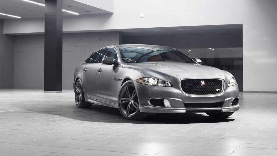 Salon de New York 2013 : la Jaguar XJR annonce 550 ch