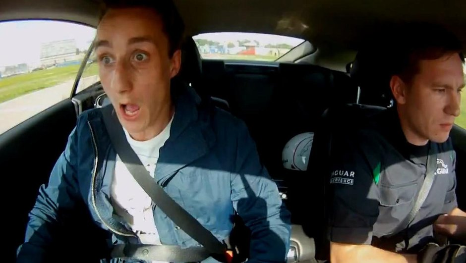 Vidéo : il se fait secouer en Jaguar XKR !
