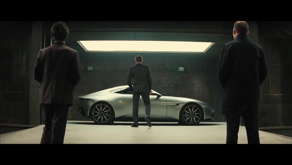 Spectre : nouvelle bande annonce de James Bond en Aston Martin DB10