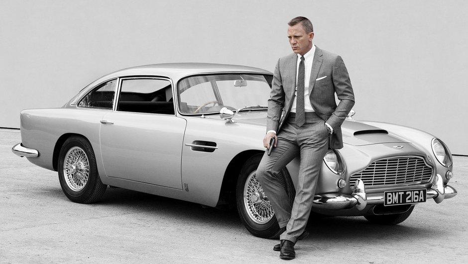 Coup d'oeil dans le rétro - James Bond et Aston Martin, une sacrée histoire d'amour