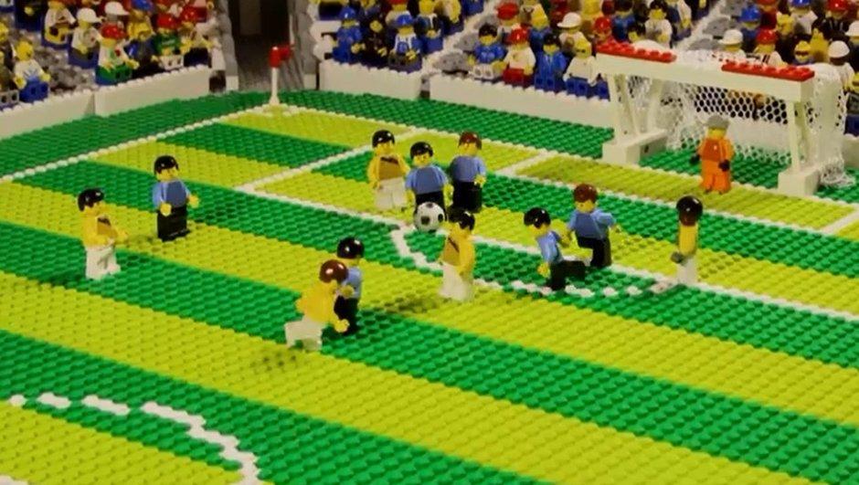 VIDEO Retro 2014 : Les plus beaux buts en Lego