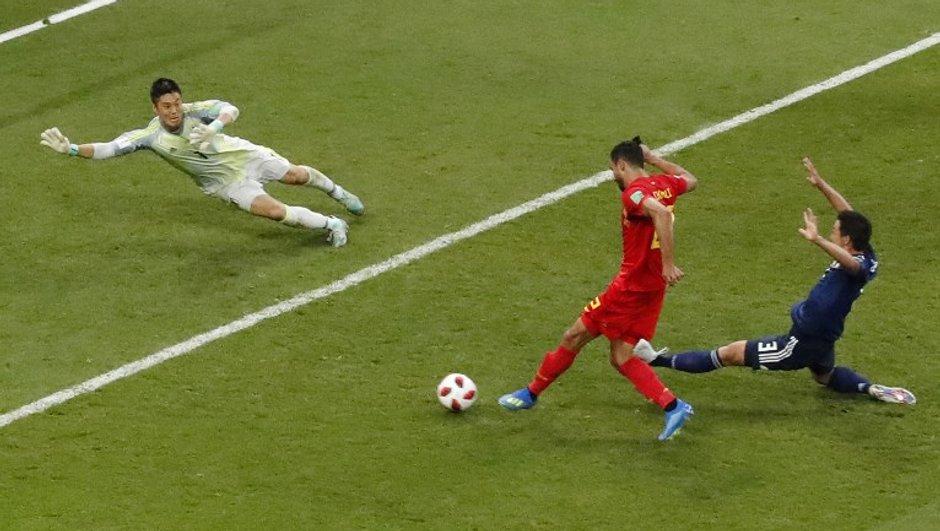 France-Belgique : Nacer Chadli compare Kylian Mbappé à Lionel Messi... et à lui-même