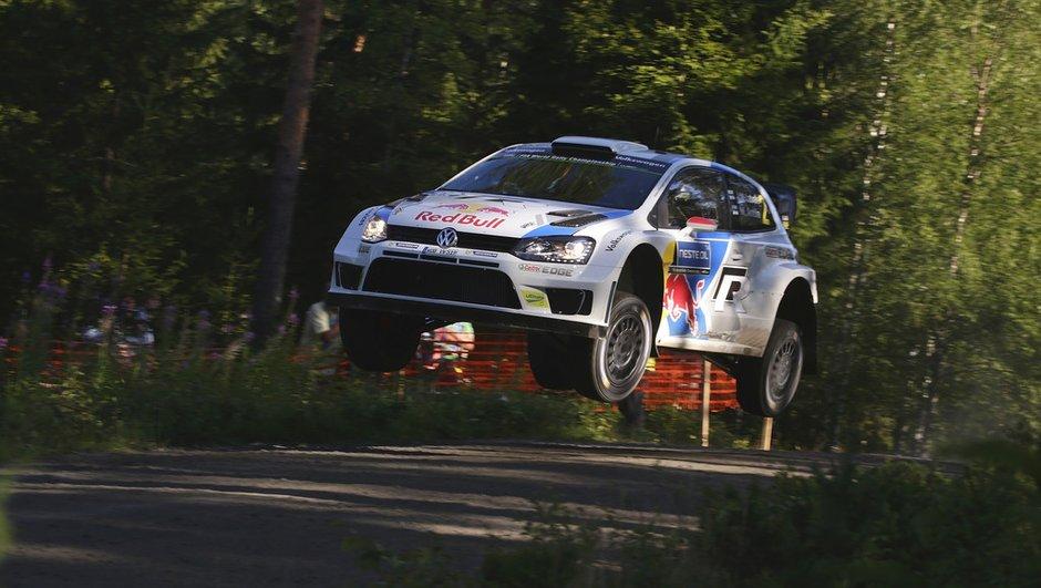WRC - Rallye de Finlande 2014 : Latvala leader à la mi-journée
