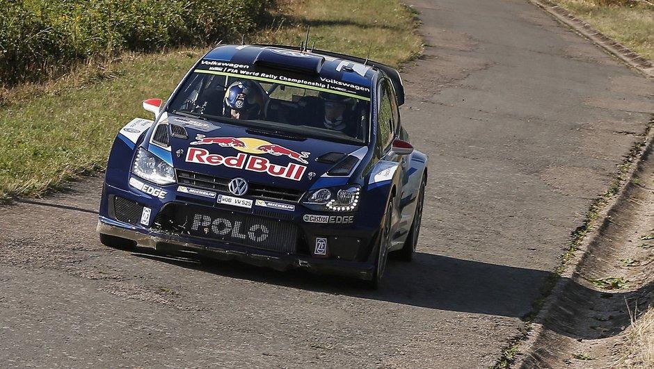 WRC – Rallye d'Allemagne 2015 : Avantage Latvala vendredi midi