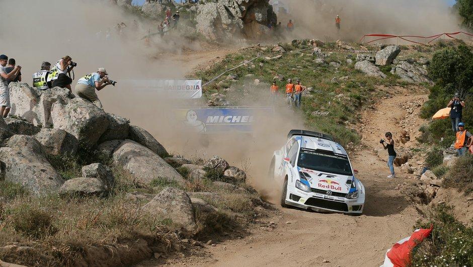 WRC - Rallye de Sardaigne 2014 : Latvala leader à la mi-journée