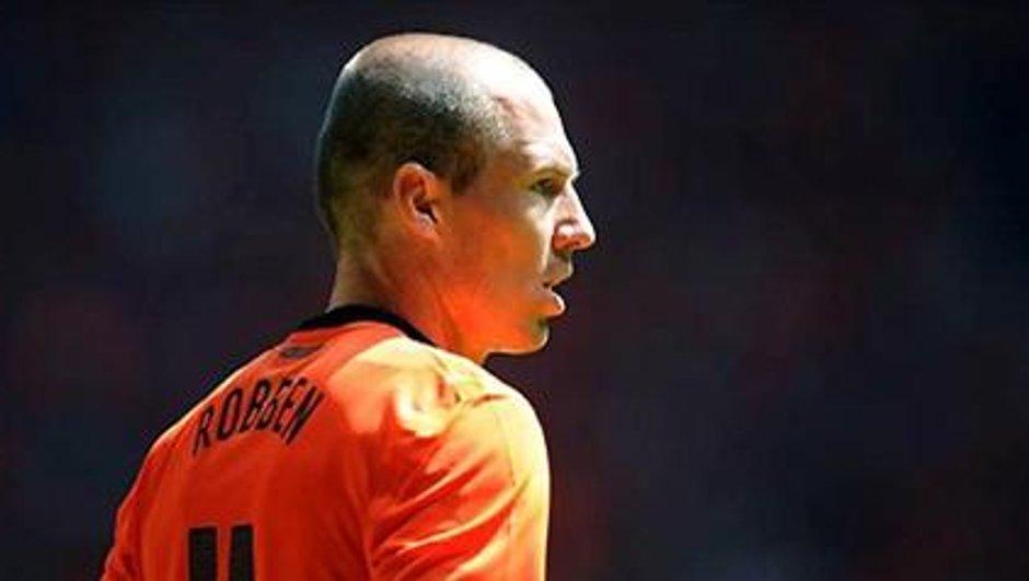 JDM: De l'espoir pour Robben