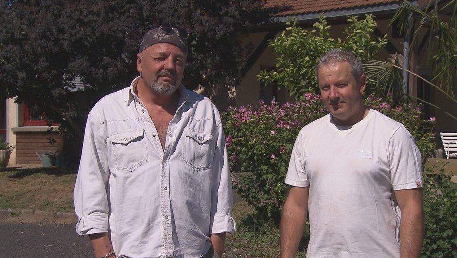 Jean-Louis et Philippe, les candidats du lundi