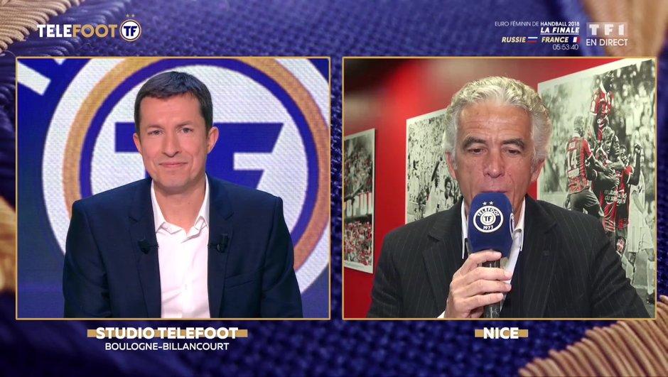 """[EXCLU Téléfoot – 16/12] - Rivère : """"Vieira a fait un très bon début, on a toute confiance en lui"""""""