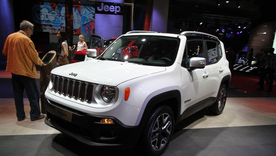"""Mondial de l'Automobile 2014 : nouvelle Jeep Renegade, un SUV typiquement """"ricain"""""""