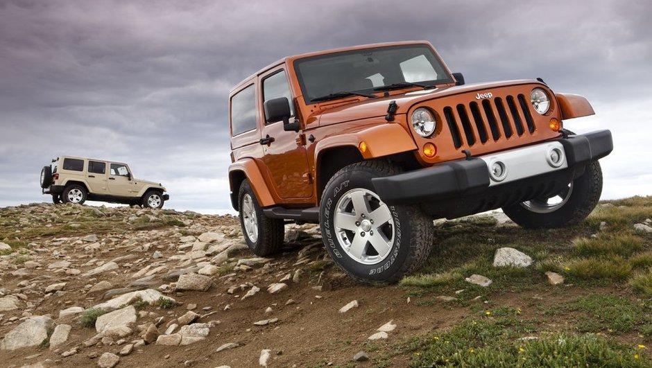 Mondial de l'Auto 2010 : nouveau Jeep Wrangler