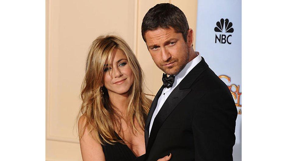 Jennifer Aniston et Gerard Butler se seraient embrassés aux Golden Globes