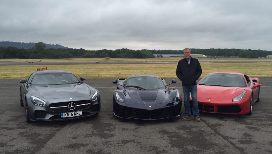 Top Gear : dernier tour de piste pour Jeremy Clarkson