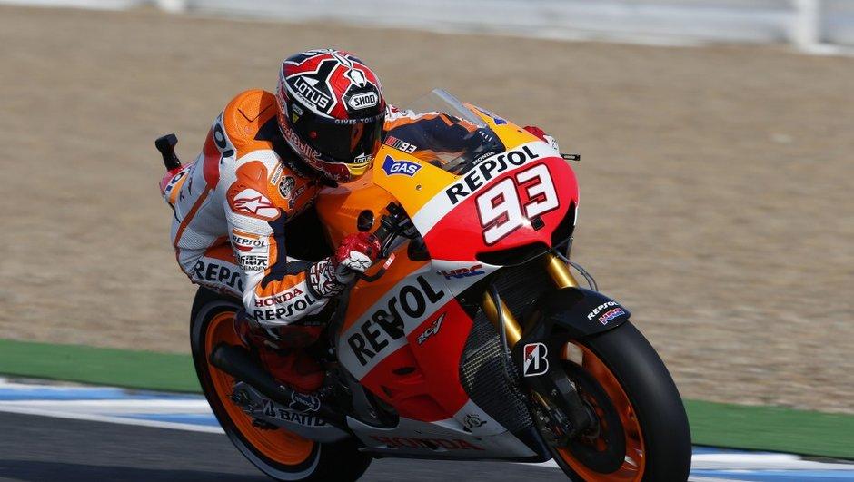 Moto GP - Warm-Up Le Mans 2014 : Marquez en tête devant Iannone et Rossi