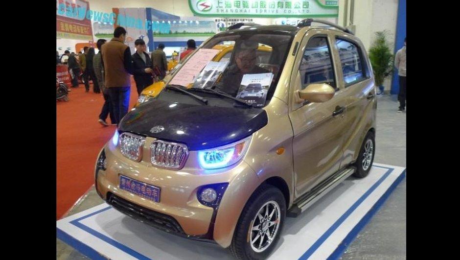 Insolite : L'horrible copie chinoise de BMW i3