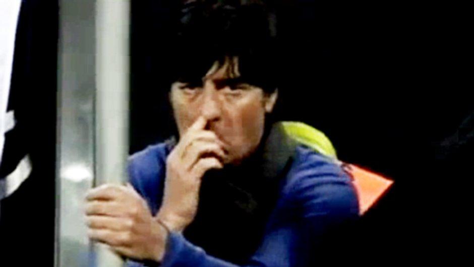 Insolite : Joachim Löw (Allemagne) mange ses crottes de nez