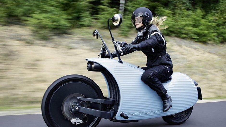 Johammer J1 2014 : une moto électrique très originale