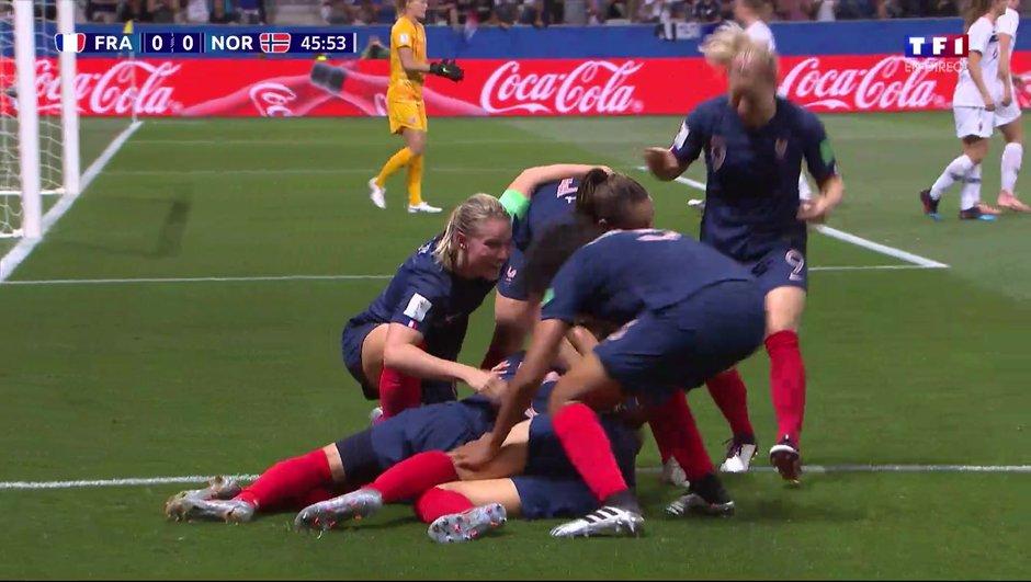 France-Norvège : L'ouverture du score de Gauvin en vidéo !