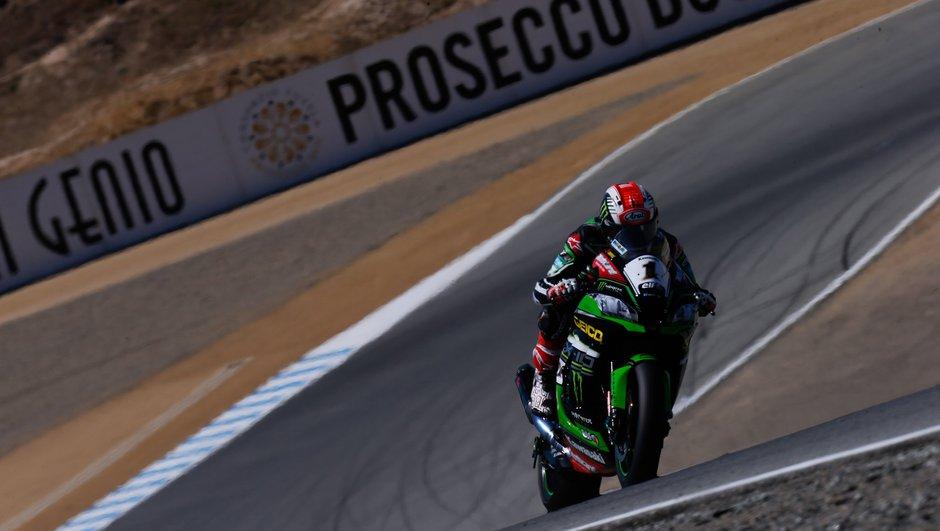 Superbike : Rea triomphe (enfin) à Laguna Seca pour la course 1