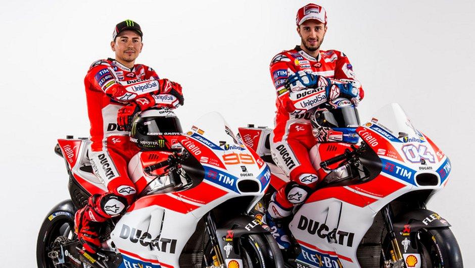 MotoGP 2017 : Ducati a dévoilé ses ambitions et (une partie) de sa GP17