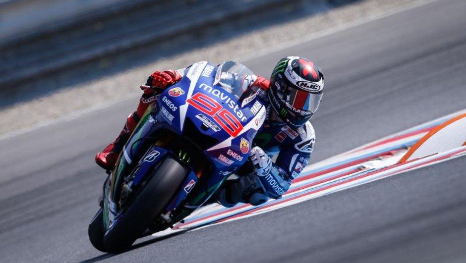 MotoGP - Essais Brno 2015: Lorenzo en tête le vendredi
