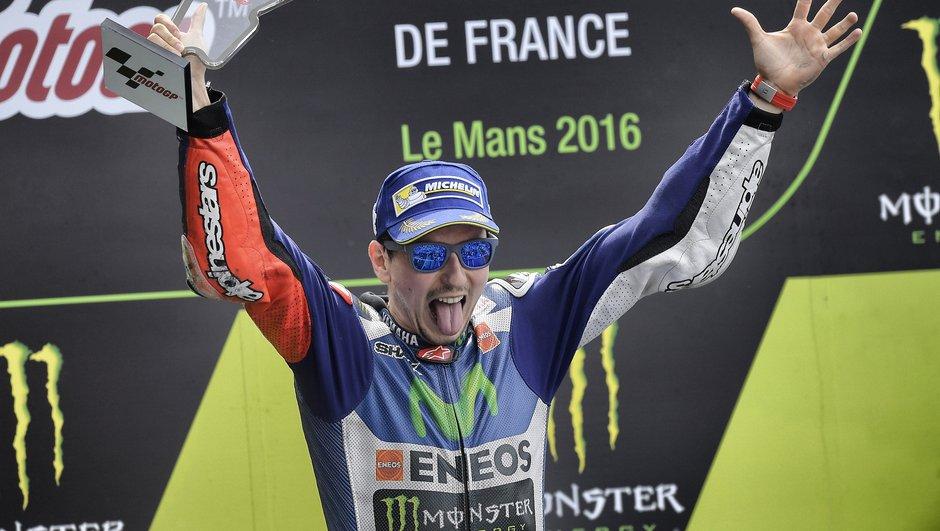 MotoGP France 2016 : Lorenzo au sommet, Marquez au tapis