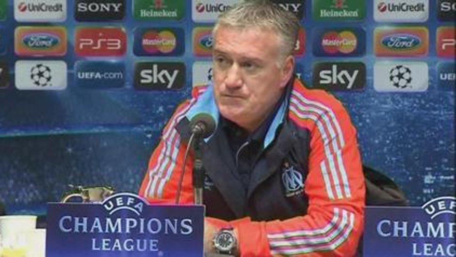 """Deschamps : """"de bonnes chances de se qualifier"""" face à l'Inter"""